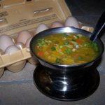 Supa chinezeasca cu ou